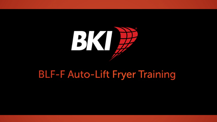 BLF Electric Auto-Lift Deep Fryer Training