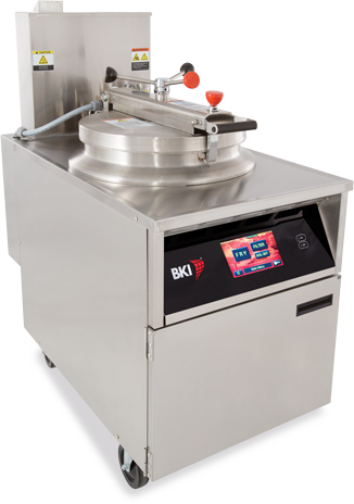 Touchscreen Control Series of Commercial Deep Fryers