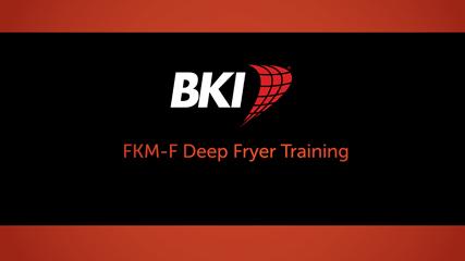 FKM-F Electric Pressure Fryer Training