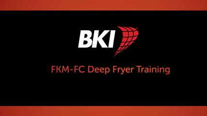 FKM-FC Electric Pressure Fryer Training