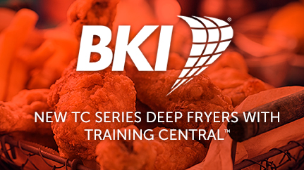 BKI TC Series Commercial Deep Fryers with Training Central